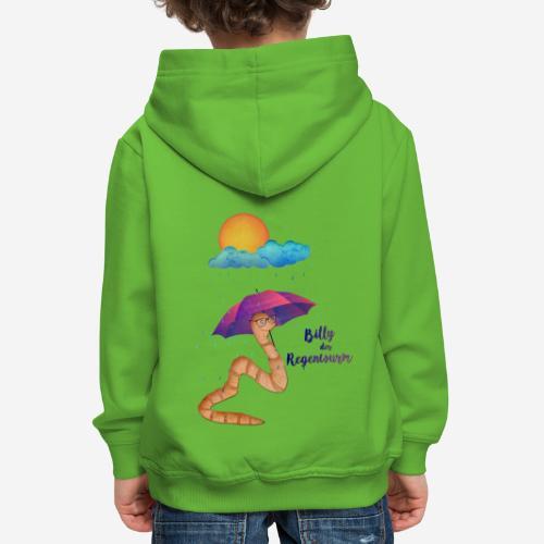 Billy der Regenwurm - Kinder Premium Hoodie