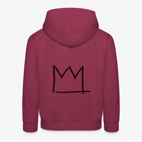 The Sick Boy Crown - Pull à capuche Premium Enfant