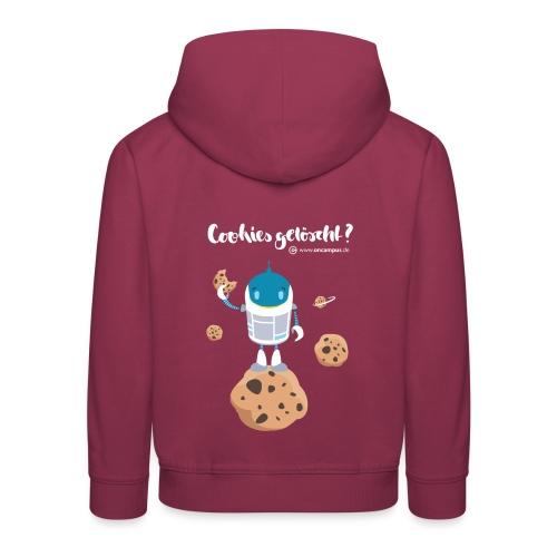 Cookies gelöscht - Kinder Premium Hoodie