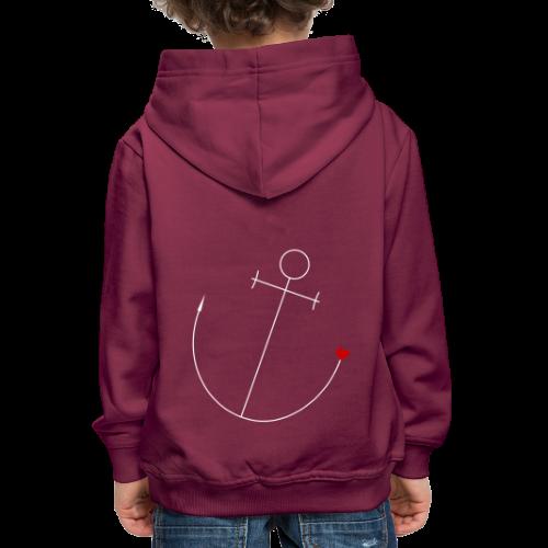 Anker mit Herz - Kinder Premium Hoodie