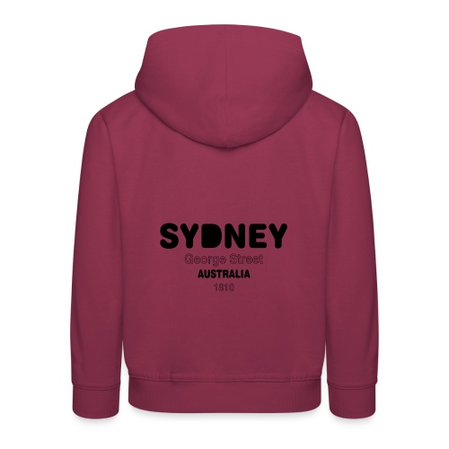 Sydney AUSTRALIA - Pull à capuche Premium Enfant