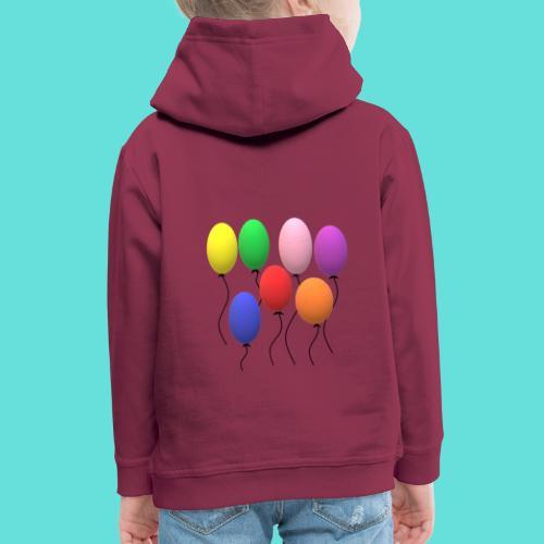 ballons - Pull à capuche Premium Enfant
