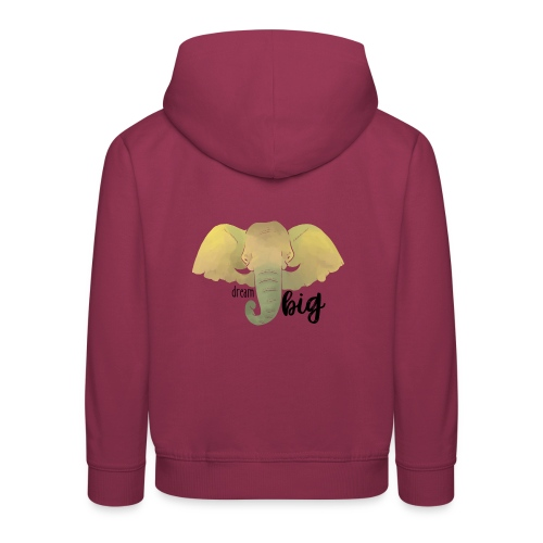 Elefant Dream Big - Kinder Premium Hoodie