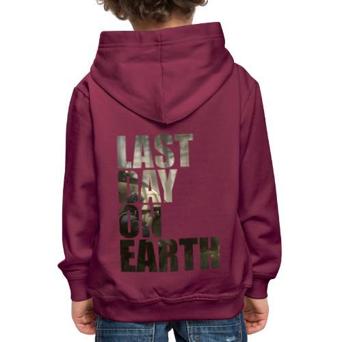 Último día en la tierra - Sudadera con capucha premium niño