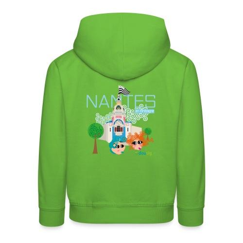 Dousig Nantes en Bretagne - Pull à capuche Premium Enfant