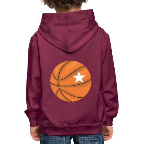 Basketball Star - Kinderen trui Premium met capuchon
