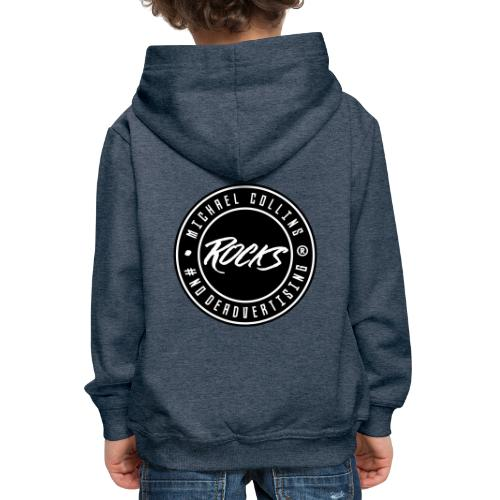 michaelcollins.rocks Logo Patch - Kinder Premium Hoodie