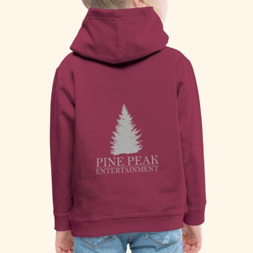 Pine Peak Entertainment Grey - Kinderen trui Premium met capuchon