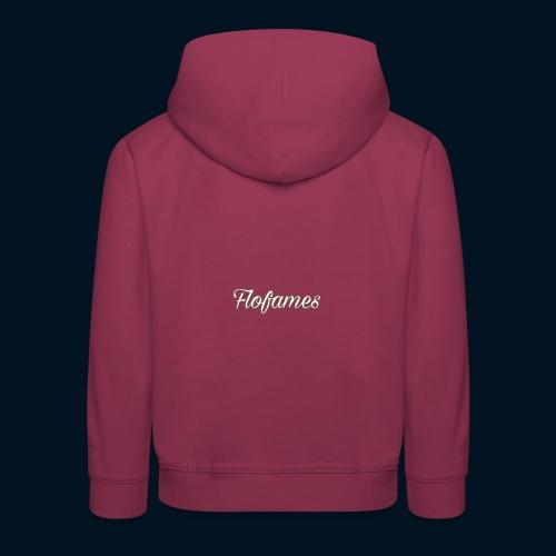 camicia di flofames - Felpa con cappuccio Premium per bambini