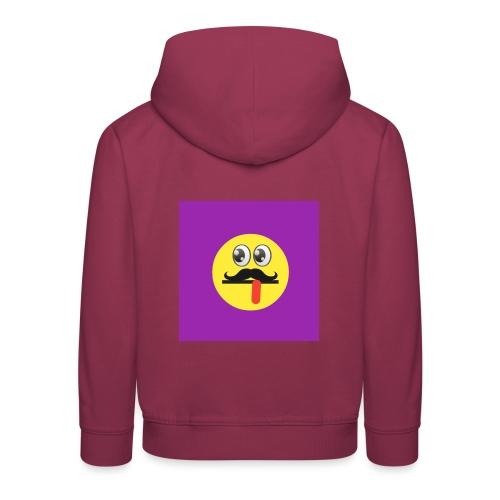 Funky logo - Kids' Premium Hoodie