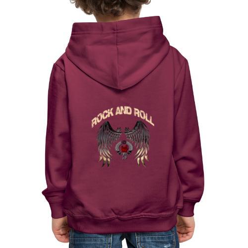 Rock and Roll - Sudadera con capucha premium niño