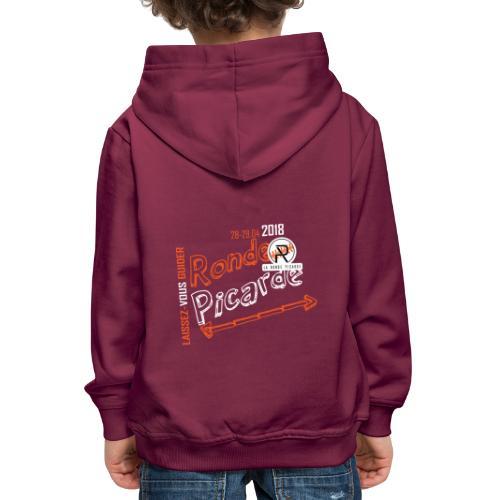 Designs RP18 2 - Pull à capuche Premium Enfant