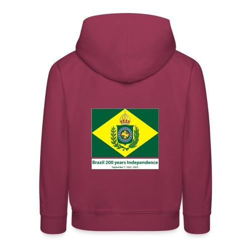 Brazil 200 years independence - Premium Barne-hettegenser