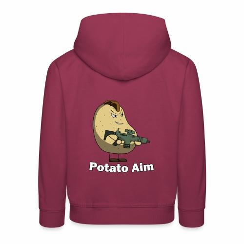 Mr Potato Aim - Kids' Premium Hoodie
