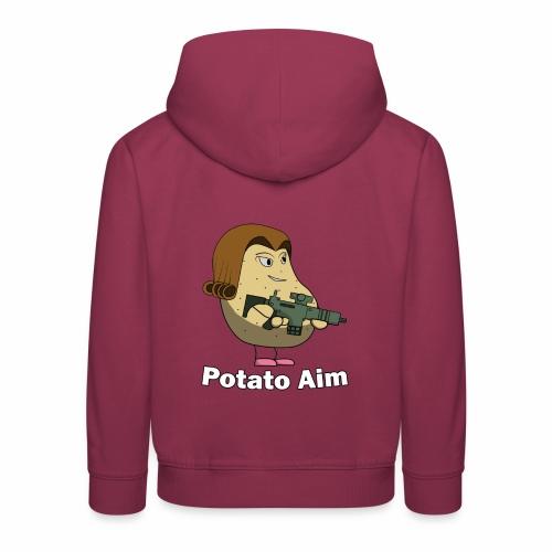 Mrs Potato Aim - Kids' Premium Hoodie