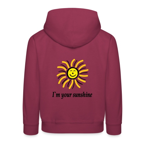2i m youre sunshine Gelb Top - Kinder Premium Hoodie