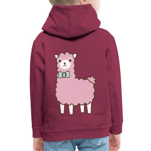 fluffy Lama - Kinder Premium Hoodie