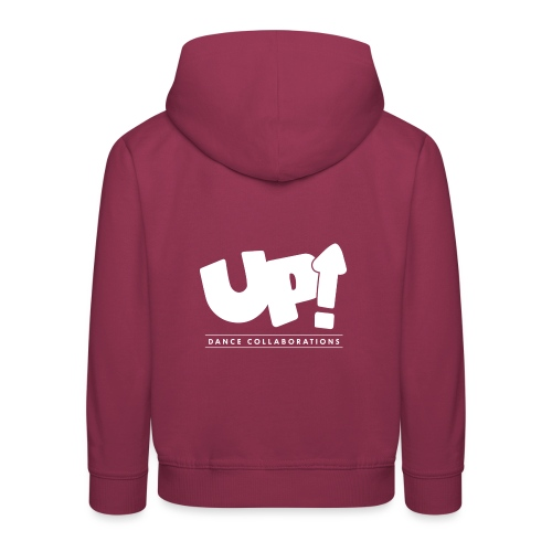 Up Dance White Logo - Kids' Premium Hoodie