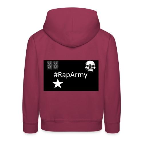 RapArmy Logo - Kinder Premium Hoodie