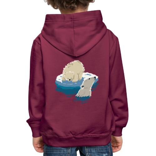 Polar bears - Kids' Premium Hoodie