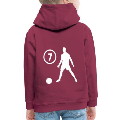 Goal soccer 7 - Kinderen trui Premium met capuchon