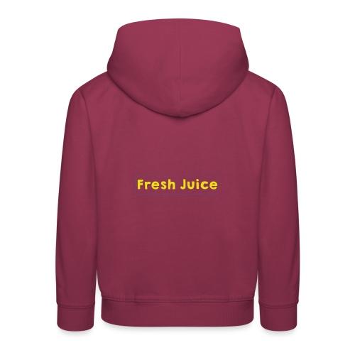 Fresh_Juice - Pull à capuche Premium Enfant