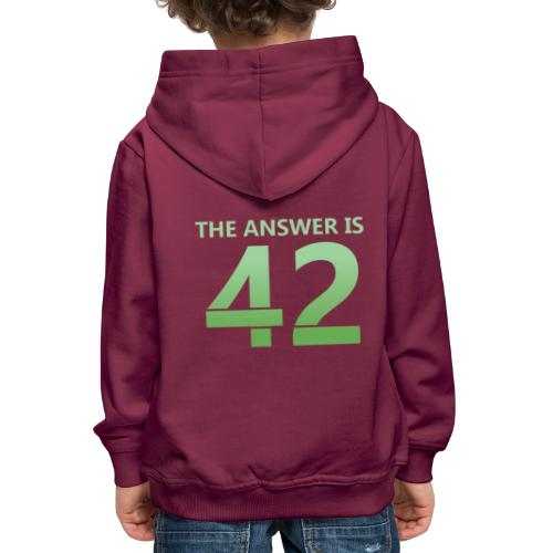 42 - Kids' Premium Hoodie
