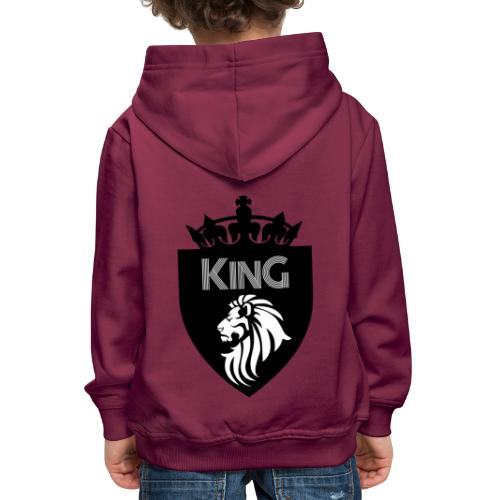king - Pull à capuche Premium Enfant