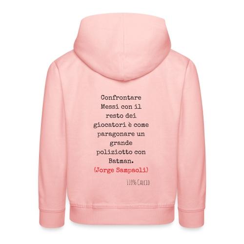 maglia 110 messi png - Felpa con cappuccio Premium per bambini