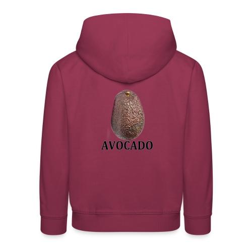 Avocado - Premium-Luvtröja barn