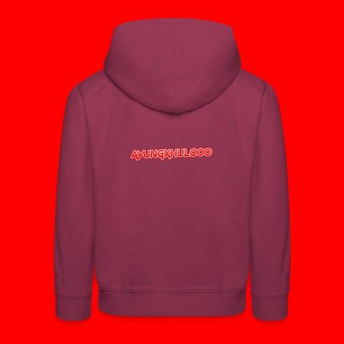 AYungXhulooo - Neon Redd - Kids' Premium Hoodie