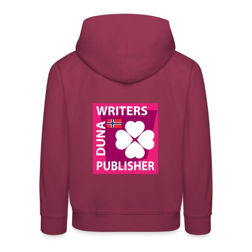 Duna Writers Publisher Pink - Premium Barne-hettegenser