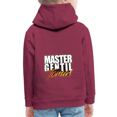 master gentil tomas logo - Pull à capuche Premium Enfant
