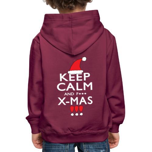 Keep calm XMAS - Kinder Premium Hoodie