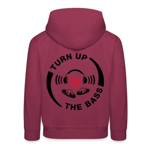 turn_up_the_bass - Kids' Premium Hoodie