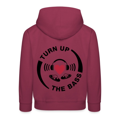 turn_up_the_bass - Kids' Premium Hoodie