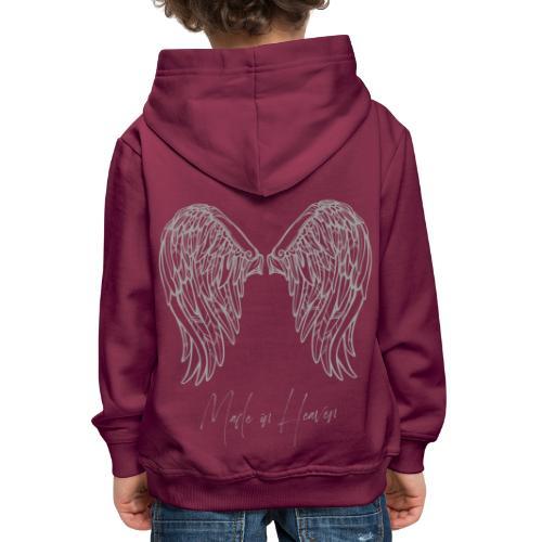 heaven - Sudadera con capucha premium niño