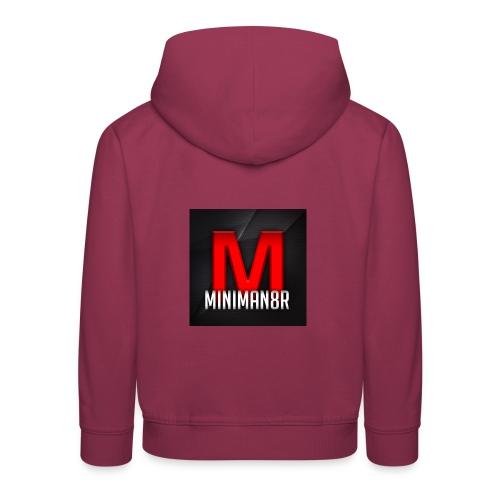 miniman8R Logo - Kids' Premium Hoodie