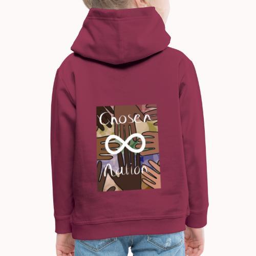 Chosen nation - Kinderen trui Premium met capuchon