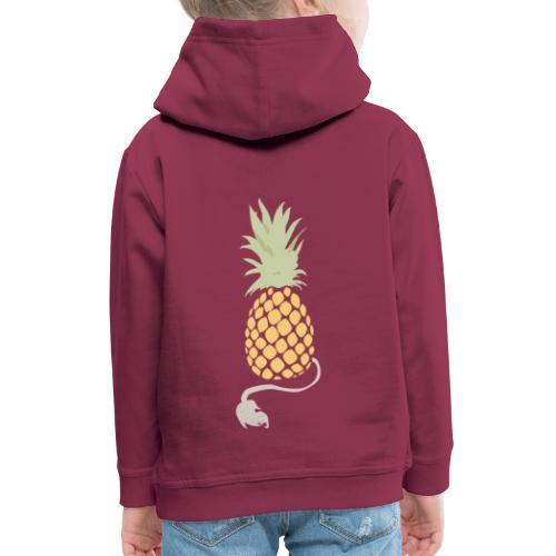Pineapple demon - Kids' Premium Hoodie