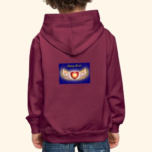 Flying Heart - Kinder Premium Hoodie