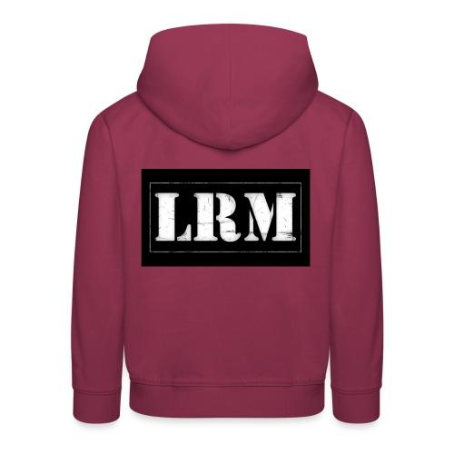 Logo LRM 2014 - Pull à capuche Premium Enfant
