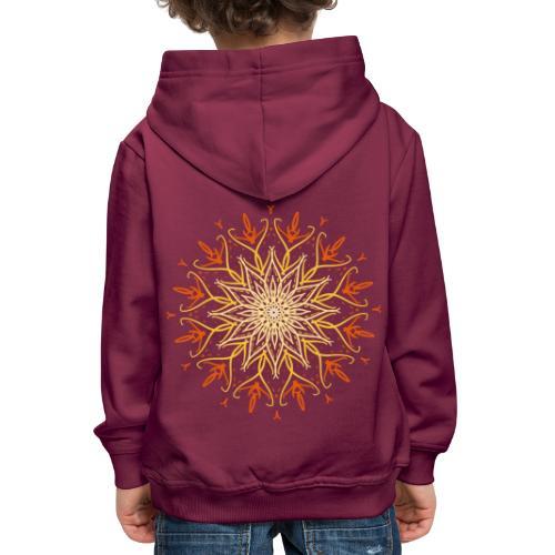 Mandala of fire - Kids' Premium Hoodie