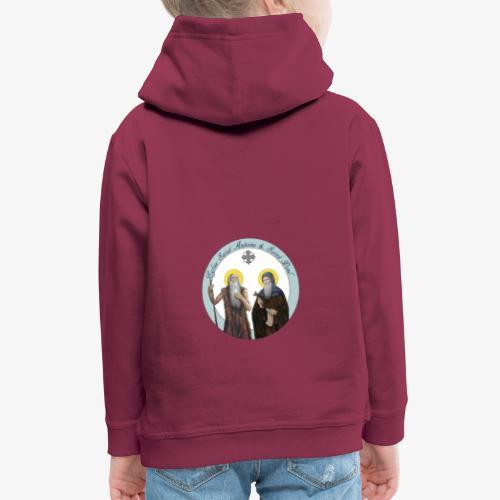 logo de l'eglise - Pull à capuche Premium Enfant
