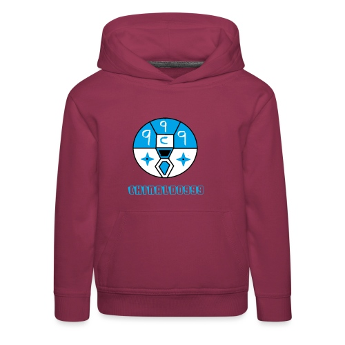 merchandice blue copy - Kids' Premium Hoodie
