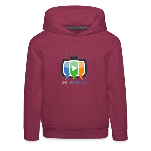 Logo Telefilm Addicted - Felpa con cappuccio Premium per bambini