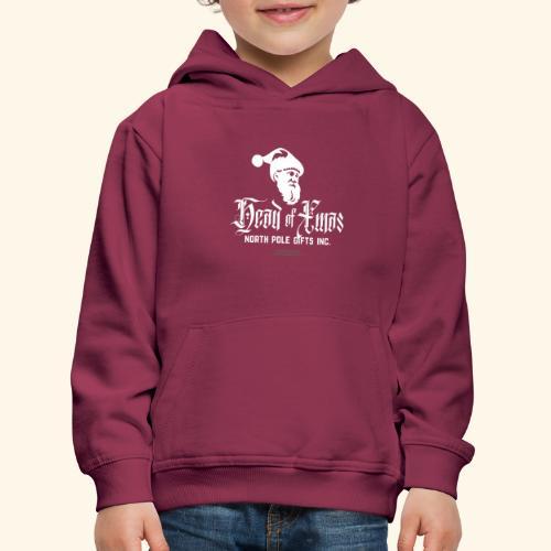 Weihnachten T-Shirt lustiger Spruch Head of Xmas - Kinder Premium Hoodie