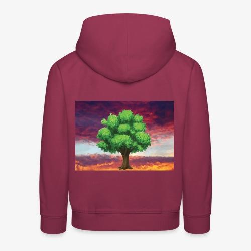 Tree in the Wasteland - Kids' Premium Hoodie