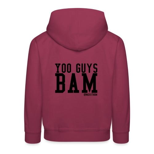 BAM! - Kinder Premium Hoodie