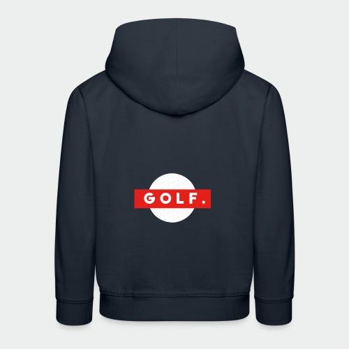 GOLF. - Pull à capuche Premium Enfant